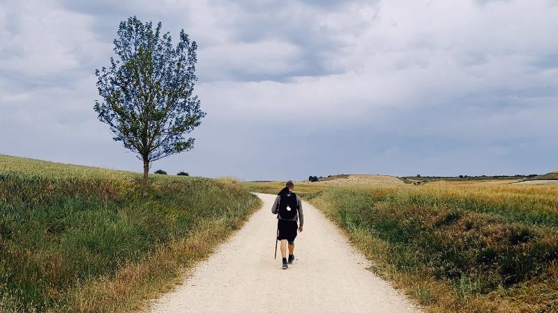 Ser peregrino y caminante